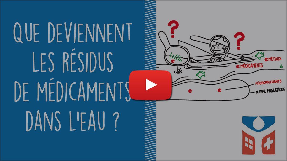 Environnement : les médicaments dans l'eau, une thématique émergente Sg16y