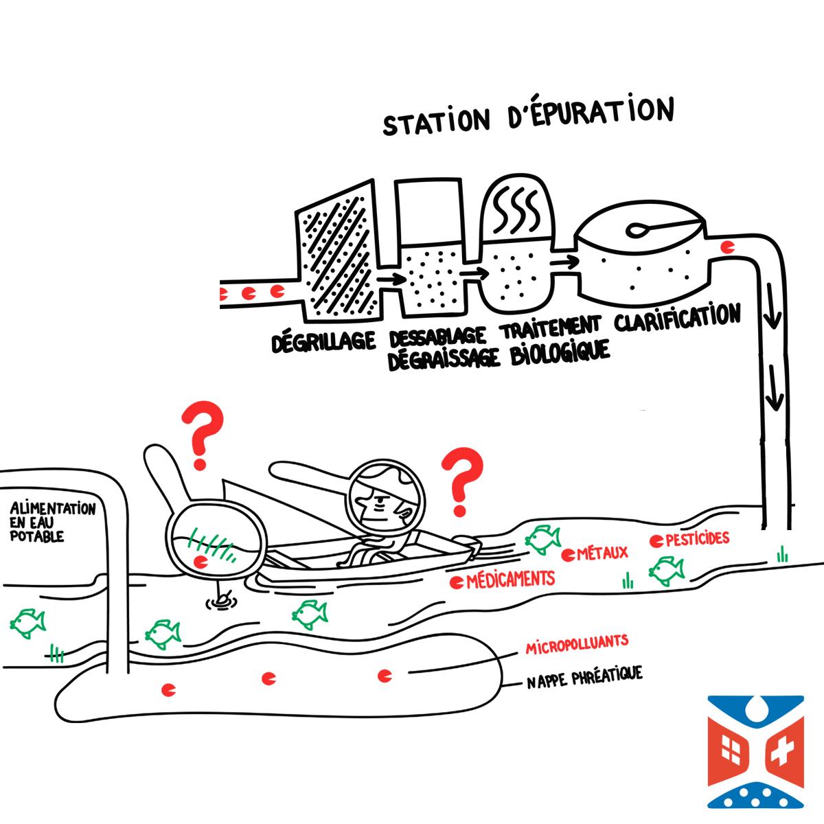 Environnement : les médicaments dans l'eau, une thématique émergente Sglio
